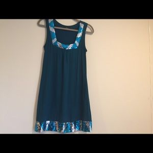 Express dress with sequins!